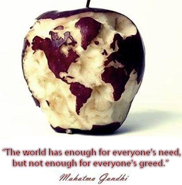 needs vs greed